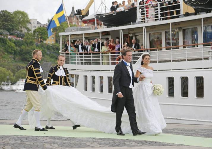 Cortege - Wedding of Princess Madeleine and Christopher O'Neill