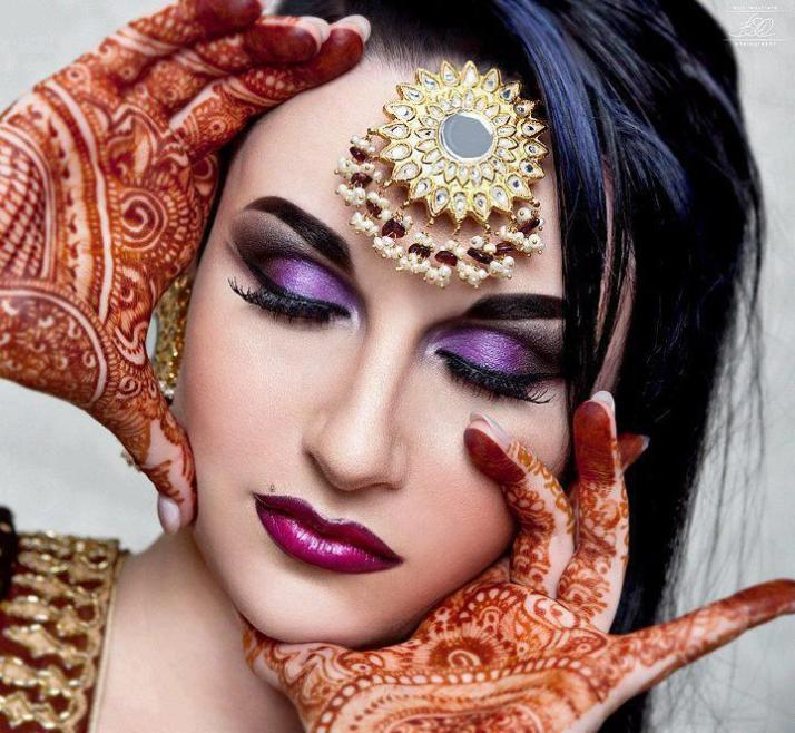 maquiagem arabian
