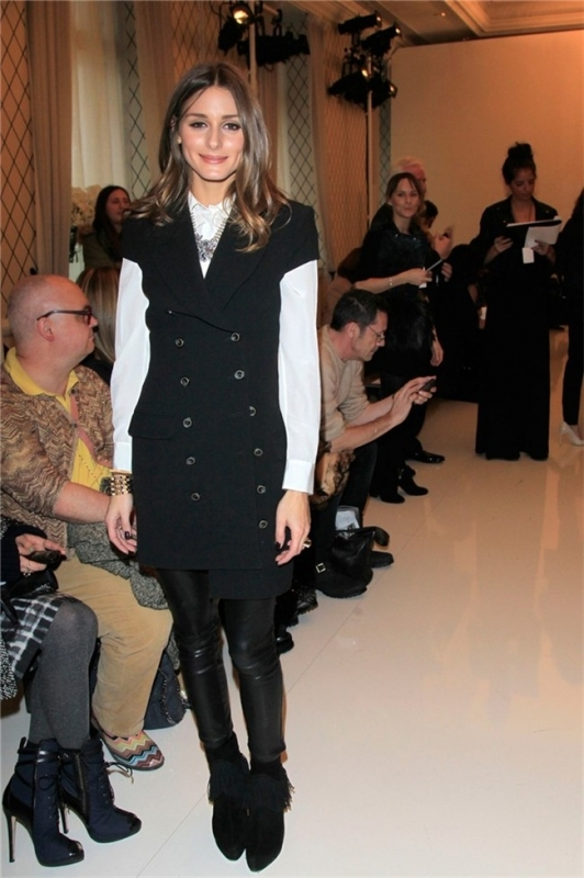 olivia At_Rachel_Zoe_fashion_show_February_11_2012